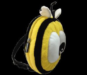 abeja mochila porta pijamas bichojitos