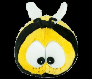abeja peluche bichojitos