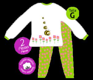 abeja pijama bichojitos