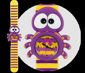 araña reloj bichojitos