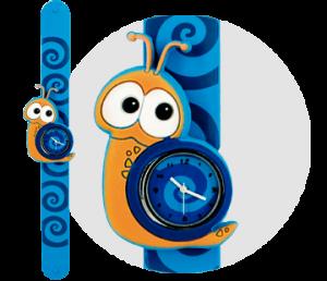 caracol reloj bichojitos