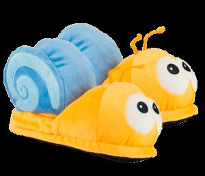 caracol zapatillas bichojitos