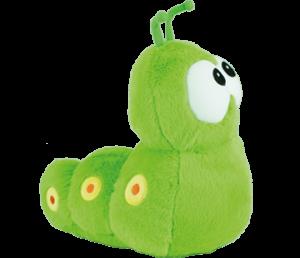 gusano peluches bichojitos