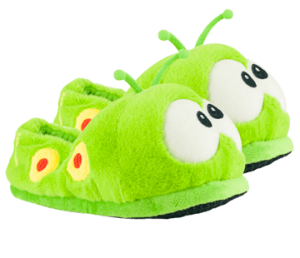 gusano zapatillas bichojitos