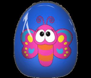 mariposa mochila bichojitos