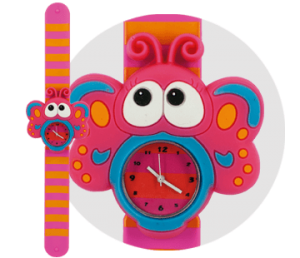 mariposa reloj bichojitos
