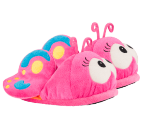 mariposa zapatillas bichojitos