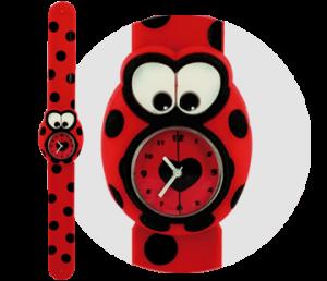 mariquita reloj bichojitos