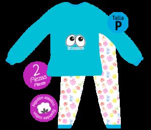 ojitos pijama bichojitos